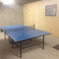 ping pong, location chalet valmorel salle de jeux billard baby foot
